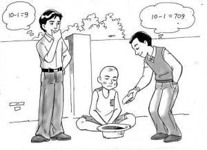 ilustrasi matematika sedekah